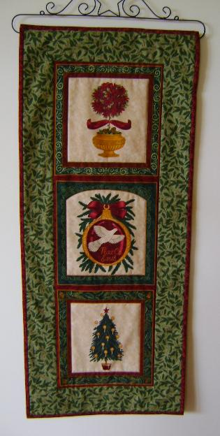 Royal Holiday Wall Hanging