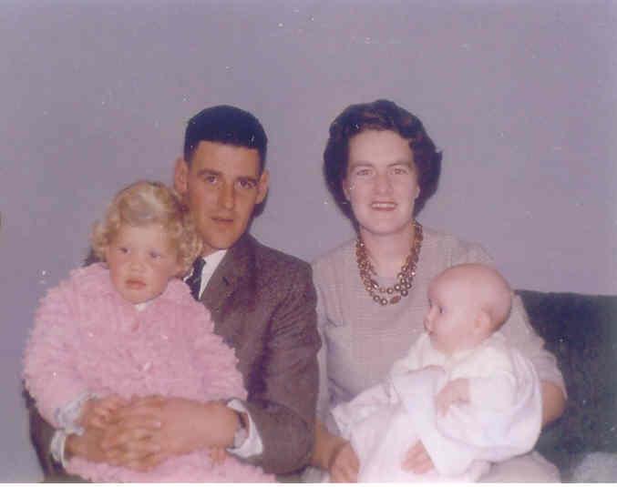 Dad, mum, Ann & Me