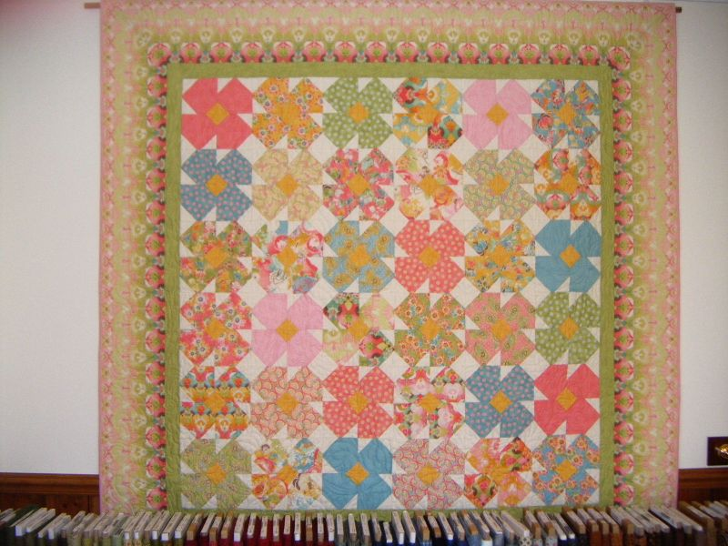 Fields of Flowers quilt