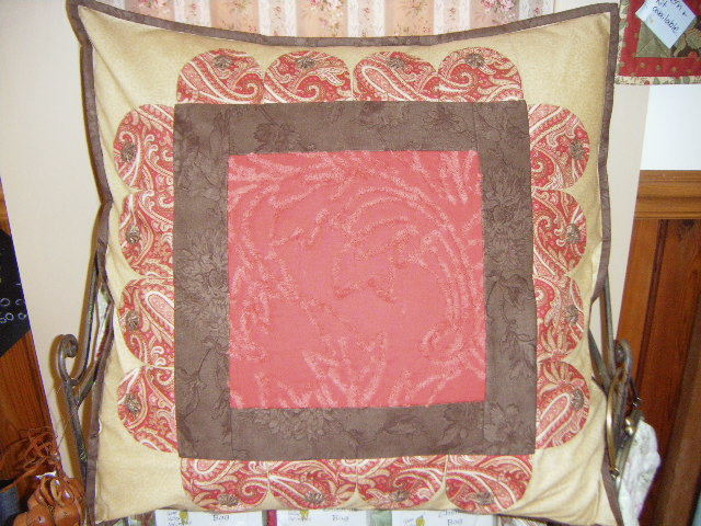 Aster Manor cushion