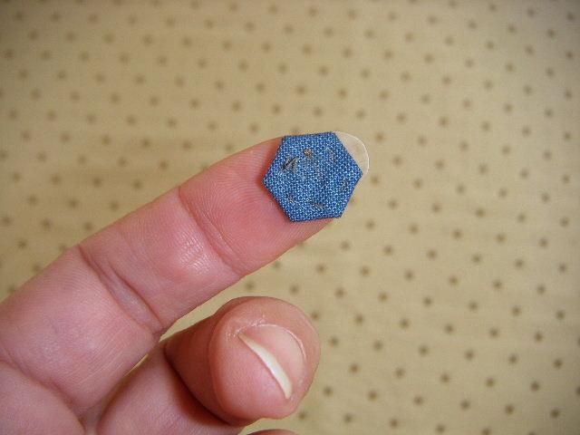 Single hexagon