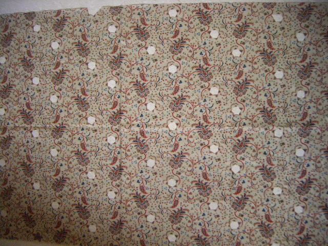 Fussy cut fabric