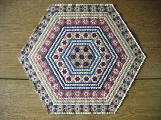 Hexagon Quilt 1st August