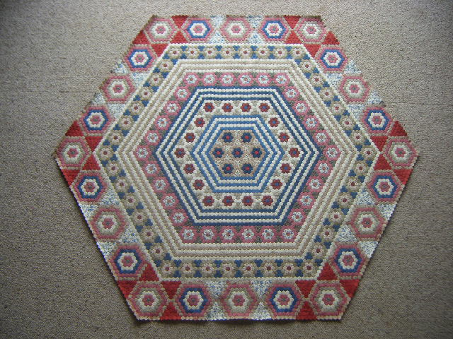 Hexagon Quilt - 22.9.2010
