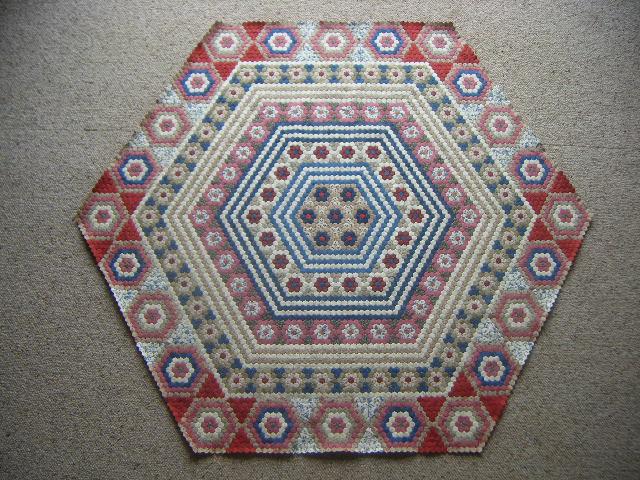 Hexagon Quilt - 22.9.2010