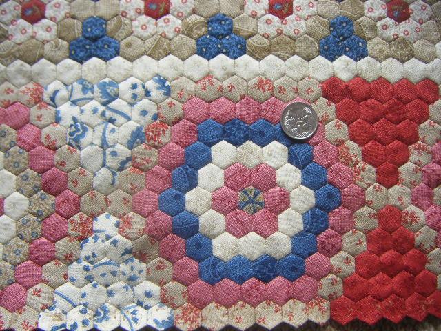 My 'Dear Prudence' Hexagon Quilt - Gum Valley Patchwork : hexagon patterns for quilts - Adamdwight.com