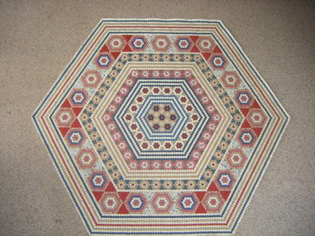 Hexagon Quilt - 15.11.2010