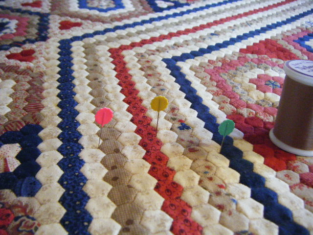 Dear Prudence quilting