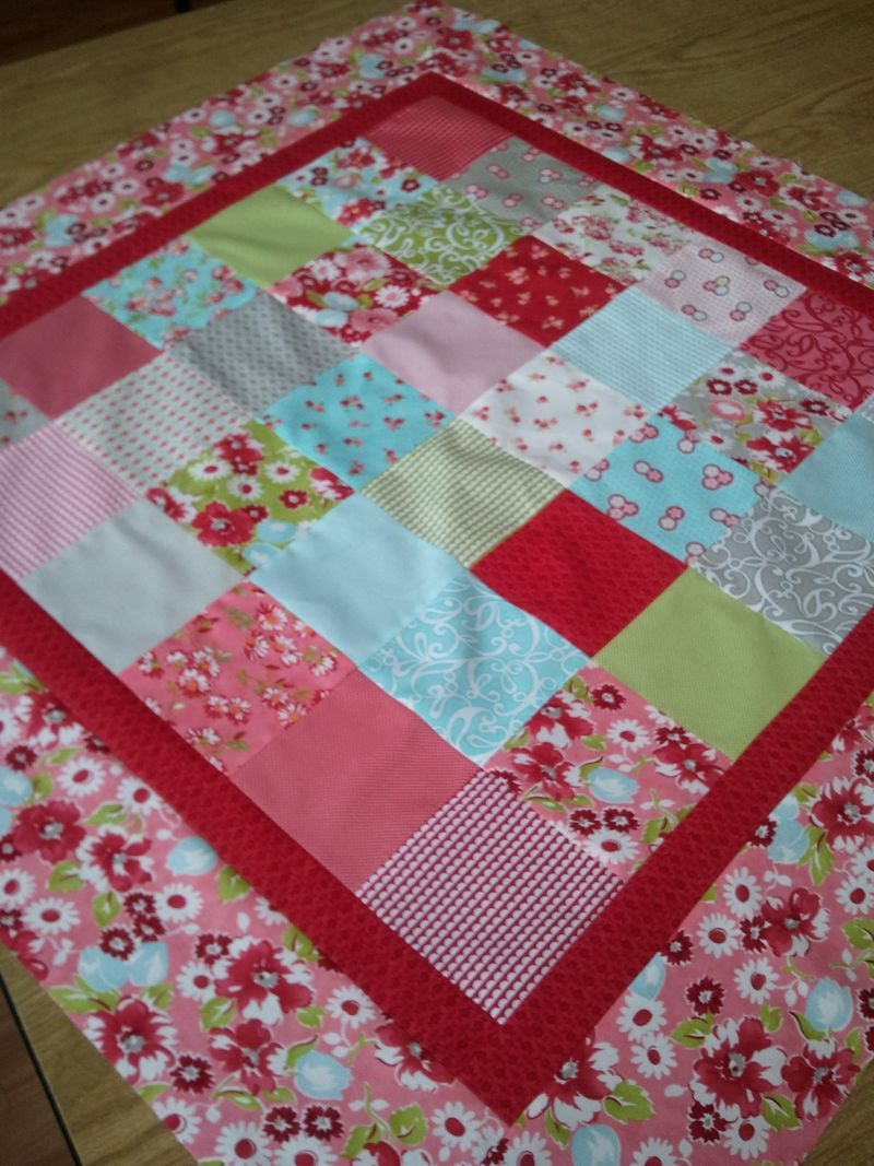 Ruby table cloth