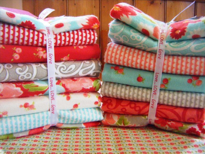 Ruby flannel bundles