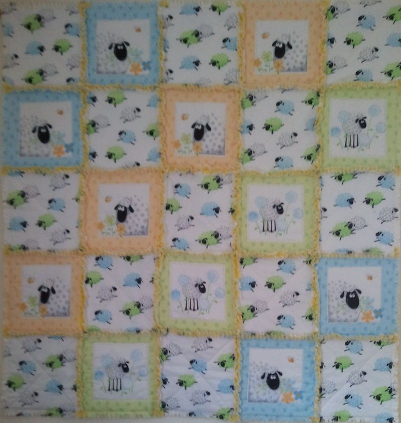 Susybee shaggy quilt