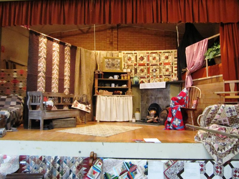 Colac Quilt Show stage