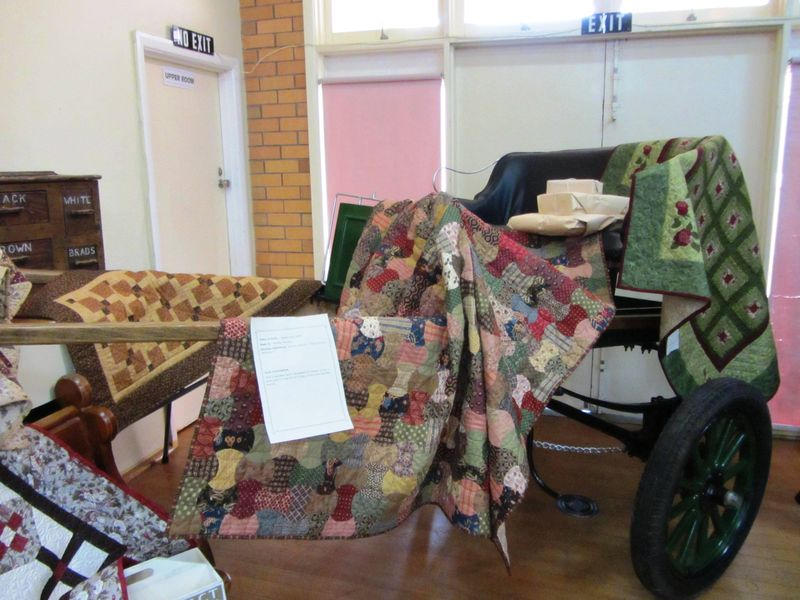 Colac Quilt Show buggy