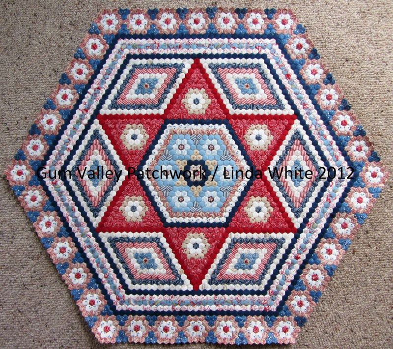 New Hexagon Quilt 21 June 2012