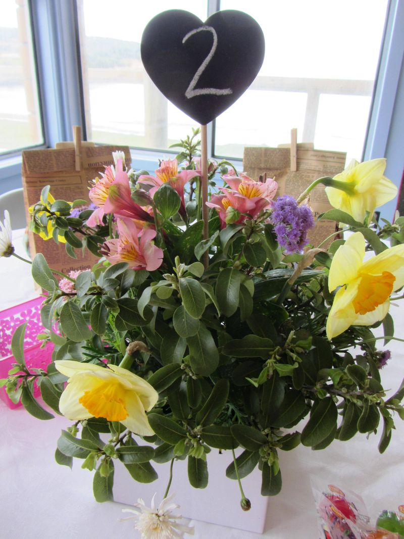 The table centres