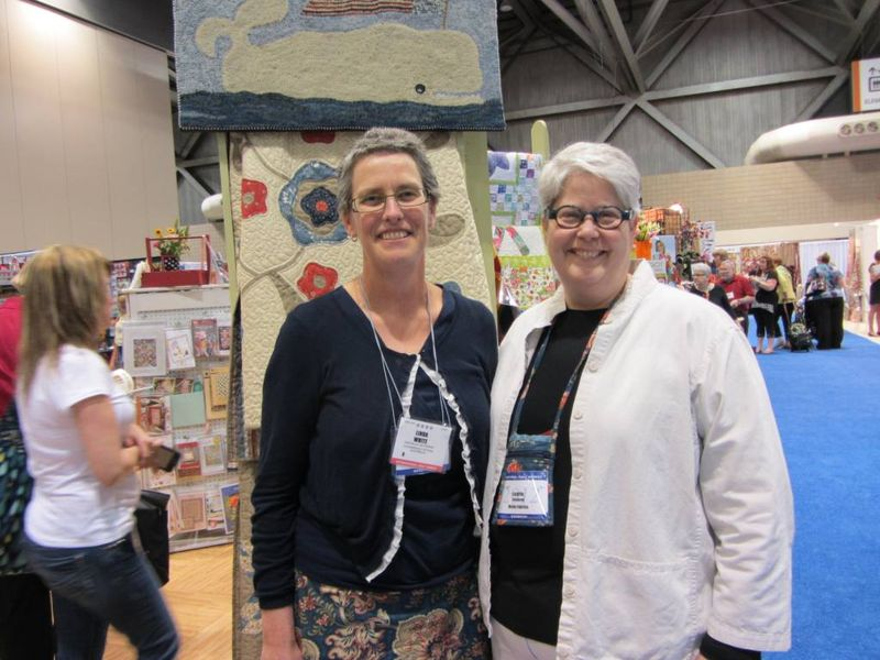 Laurie Simspon and me
