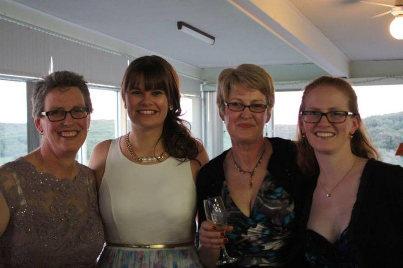 Cathryn, Hannah, Emma & me
