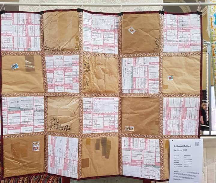 BQS paper quilt