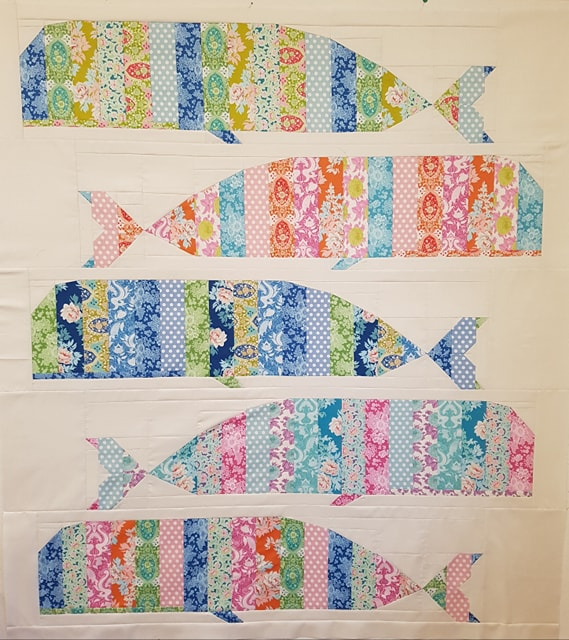 Whales quilt