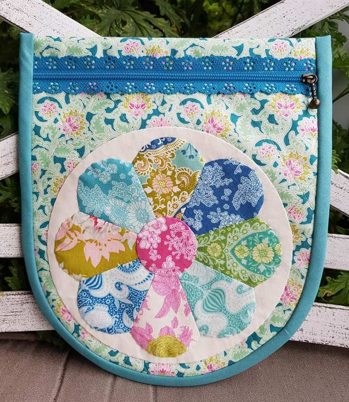 Peony Kisses Pouch