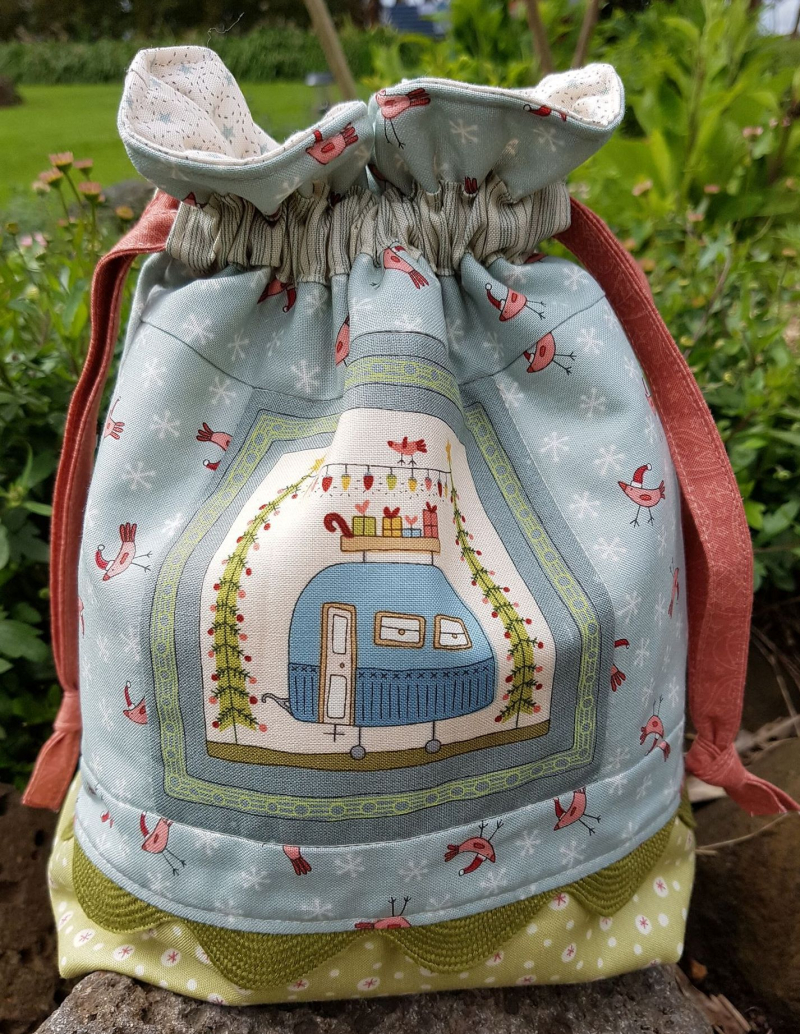 Christmas gift bag finished