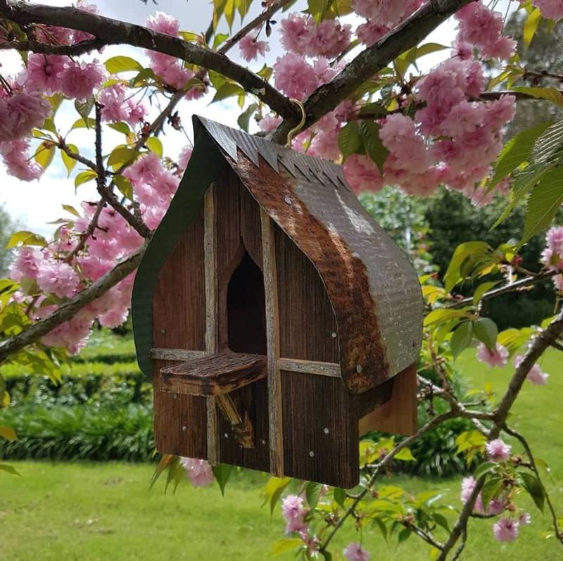 Garden bird house c