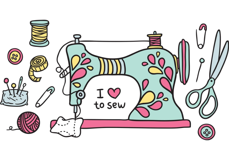 I love to sew image