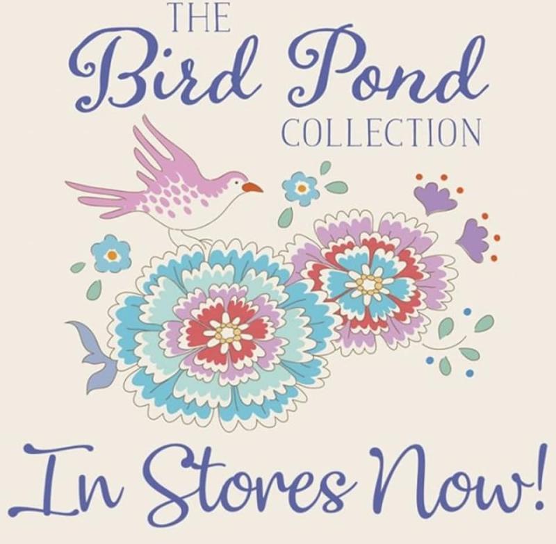 Tilda Bird Pond poster