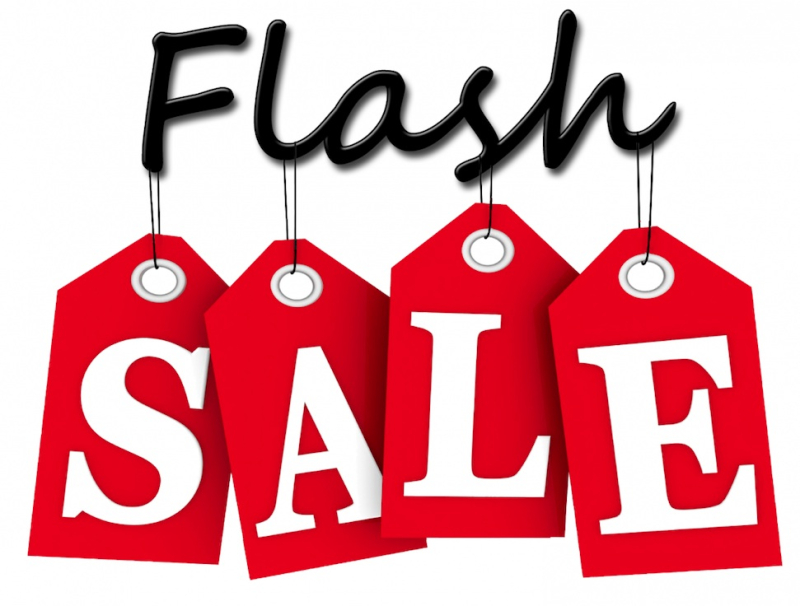 Flashsale sale