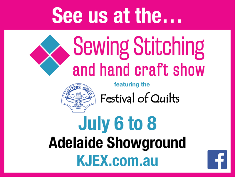 See us at 2018 Sewing