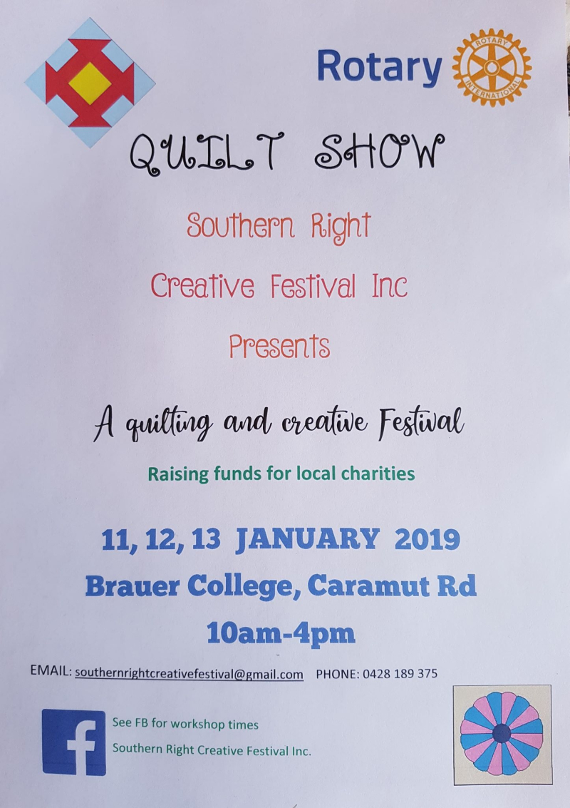 Southern Right Creative Festival Poster