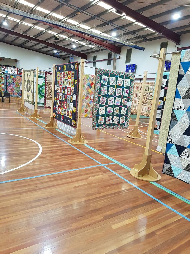 Quilt show quilts