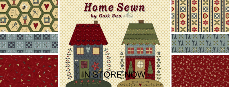 Home Sewn by Gail Pan in store now