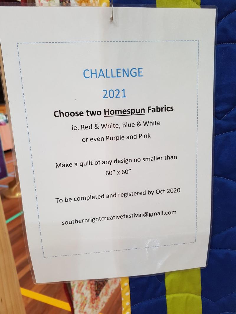 Quilt show challenge