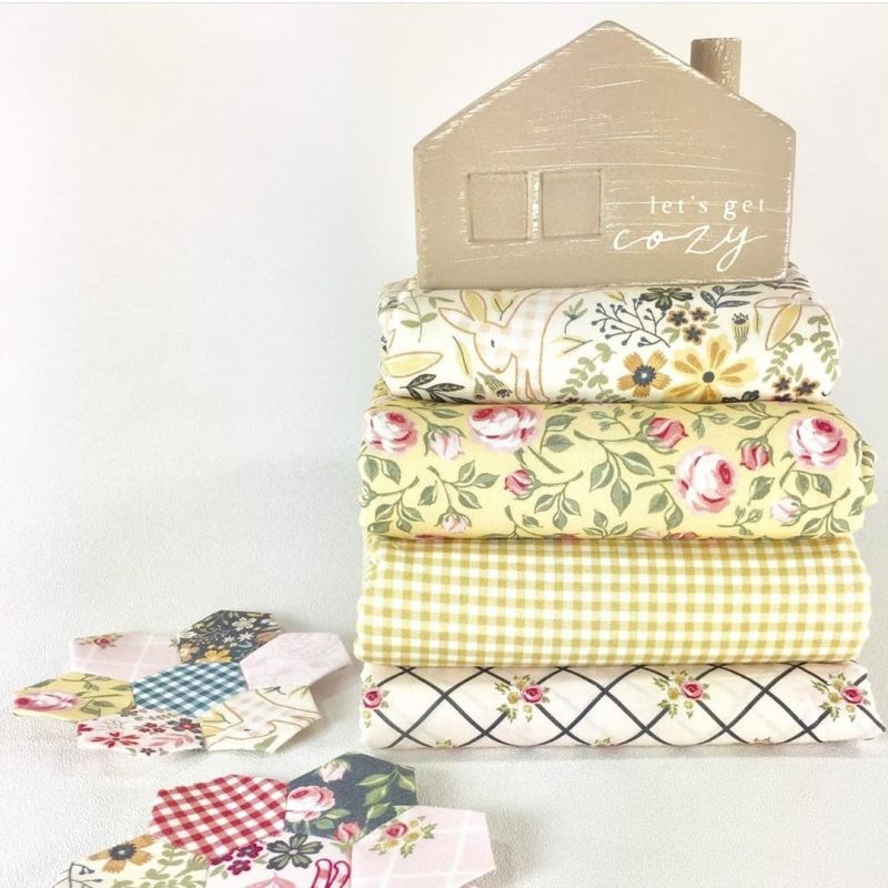 Gingham Farmhouse yellows