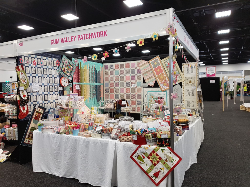 Adelaide 2019 stand set up