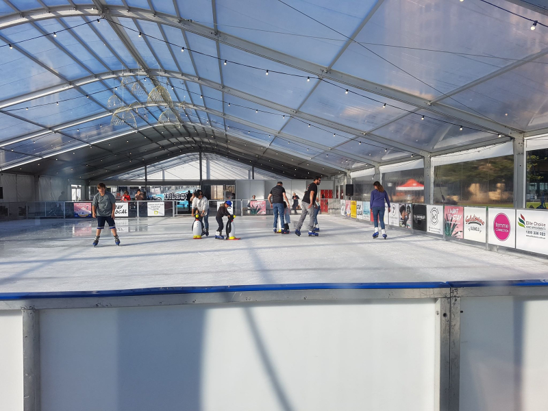 Adelaide 2019 ice skating