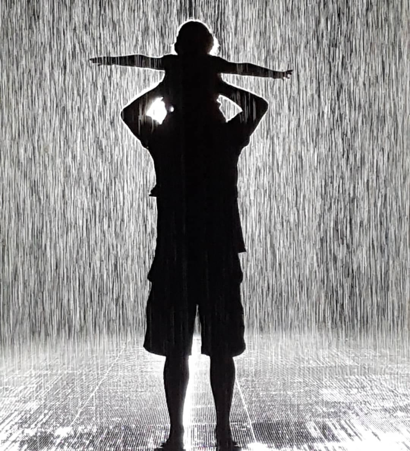 Rain Room Georgia and Pa