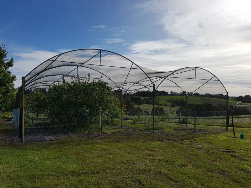 Orchard structure Finished
