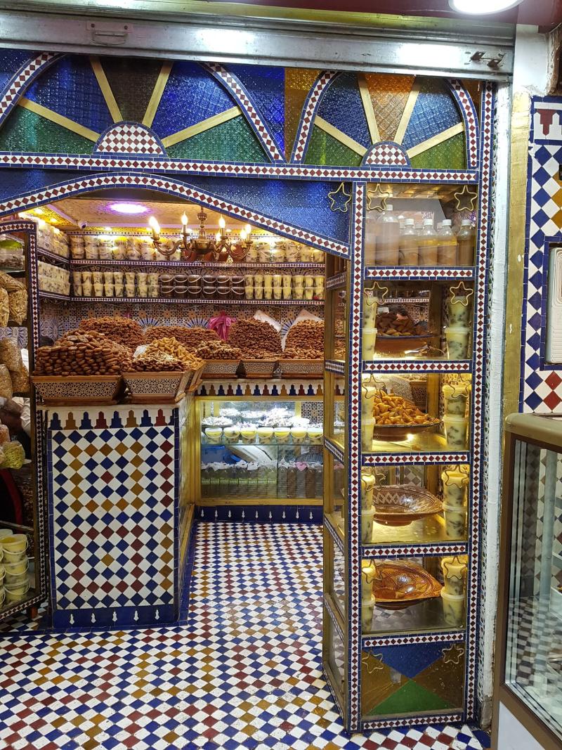 Fez medina bakery