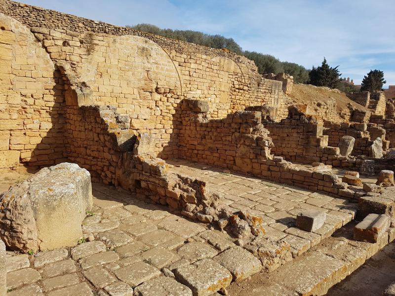 Chellah roman relics 2