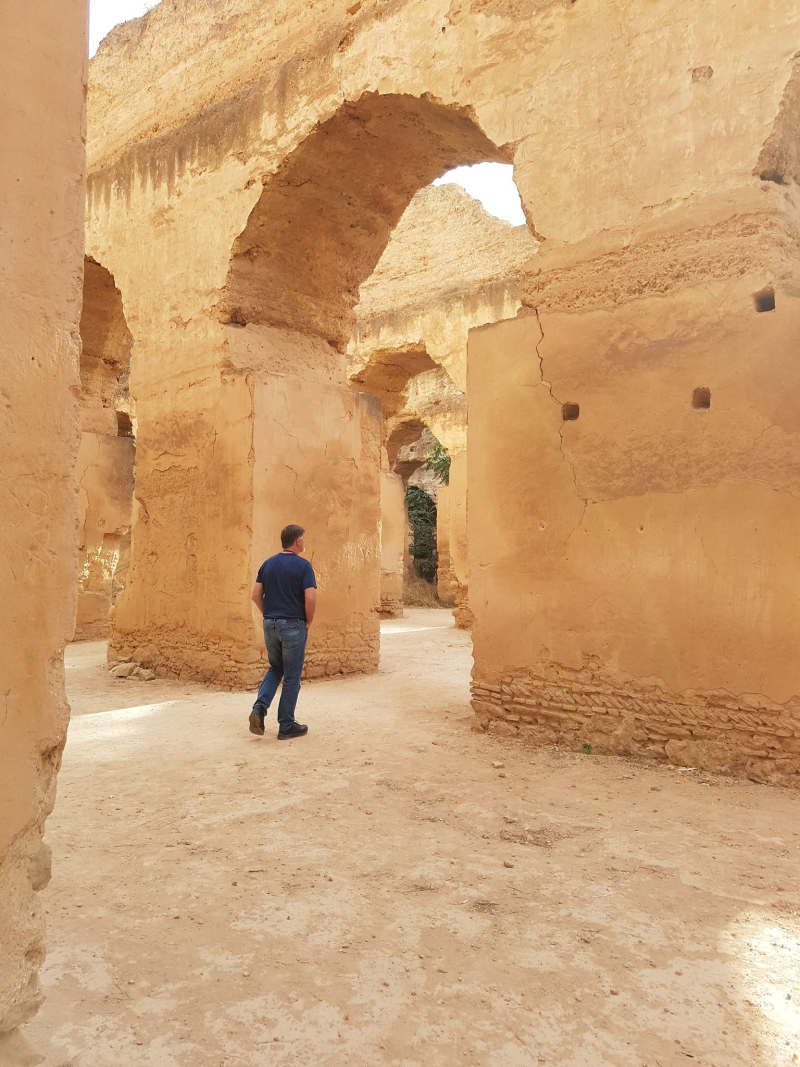 Meknes Royal stables 2