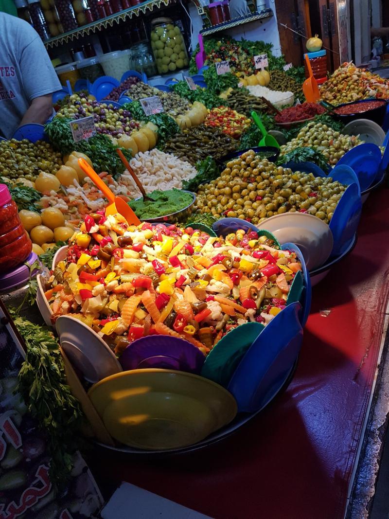 Fez medina food