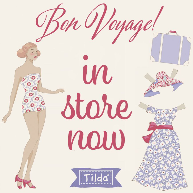 Bon Voyage in store now