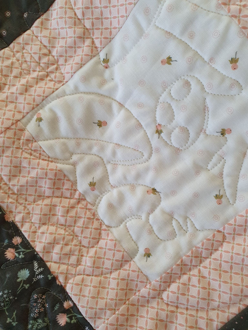 Songbirds in Spring quilting