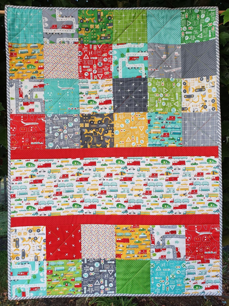 On the Go cot quilt