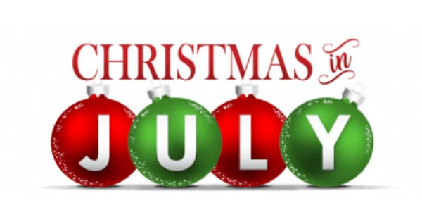 Christmas in july photo