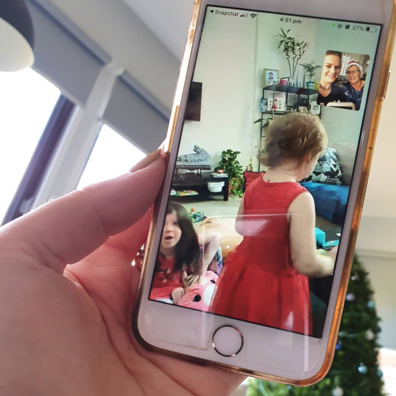 Facetime Christmas day