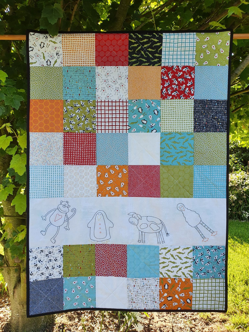 Animal Crackers quilt