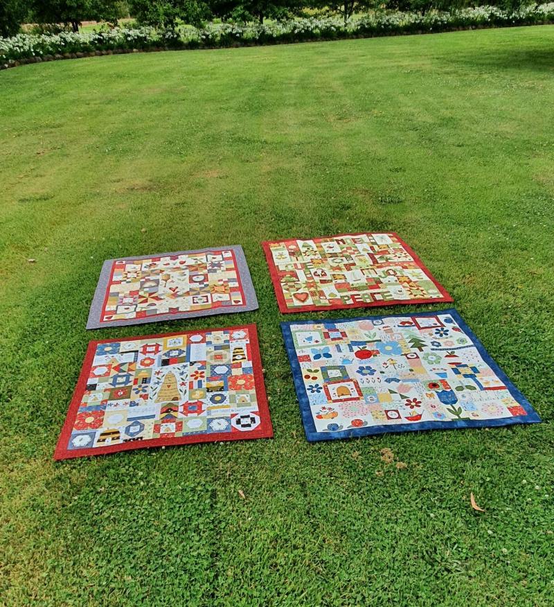 Four bom quilts 2